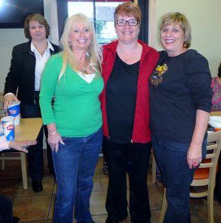 Cindy, Cheryl, Pam, Joanne